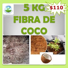 Fibra De Coco 5kg, Germinación, Sustrato, Hidroponia