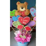 Arreglos San Valentin Arreglos En Foami Detalles 14 Febrero