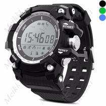 Smartwatch No.1 F2 Termometro Podometro Cámara Remota Ip68