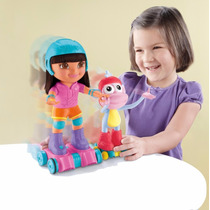 Dora Aventura En Patines Fisher Price Mattel
