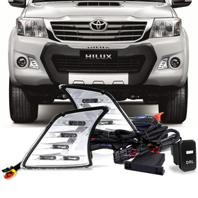 Kit Drl Daylight Hilux 2012 2013 2014 Luz Diurna
