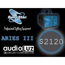 Luz Efecto De Led Aries Iii Sunstar Dmx Audioritmico
