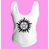Camiseta Fem. Regata Nadador Supernatural Sobrenatural 14