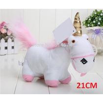 Pelucia Unicornio Agnes Minion Meu Malvado Favorito 21cm