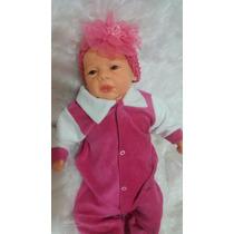 Boneca Tipo Bebê Reborn Linda Careca Com Enxoval Promoção!!!