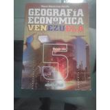 Geografía Económica De Venezuela Editorial Actualidad