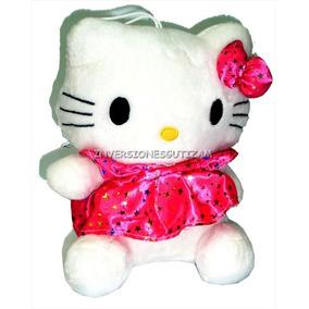 Peluche Hello Kitty Diseño C/ Vestido Hipoalergenico Grande