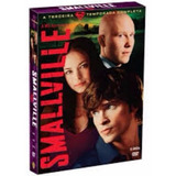 Smallville Terceira Temporada Completa Box 6 Dvd Originais
