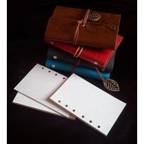 Refil 80 Folhas Para Sketchbook Pequeno Papel Reciclado