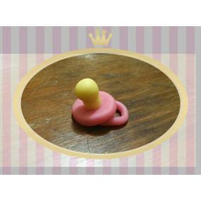 Souvenir Chupete Porcelana Bautismo Nacimiento Baby Shower