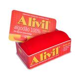 Mini Almofada Pílula Em Algodão Com Caixa Alivil