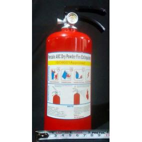 8 Alcancias En Forma De Extintor De Fuego Extinguidor