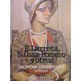Libreriaweb La Prosa Modernista Antología Por Larreta Y Otro
