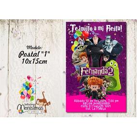 Invitacion Imprimible Personalizada Hotel Transylvania 2
