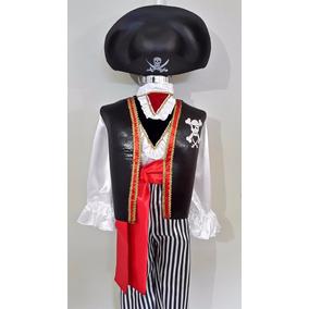 Disfraz De Pirata Disfraces Pirata Trajes Halloween Sombrero