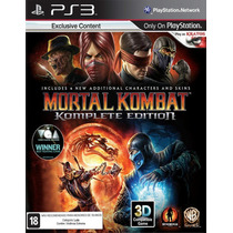 Mortal Kombat 9 Komplete Edition Ps3 Legendado Br - Cód Psn