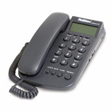 Telefone C/ Fio Identificador De Chamada Grafite Multitoc Id