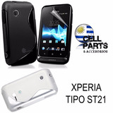 Protector Tpu Xperia Tipo St21 Sony Xperia Tipo St21 St23