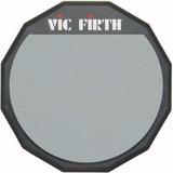 Vic Firth Goma Pad Practica Simple Lado De 12 Pulgadas