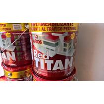 Impermeabilizante Thermotek Red Titan 12años Transito Ligero