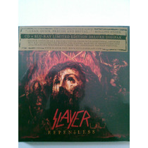 Slayer Repentless Cd + Blu-ray