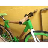 Bicicleta De Bambú Estilo Cotidiano De Colección