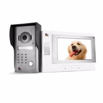 Porteiro Eletrônico, Camera Monitor 7p Destrava Portão Cl49