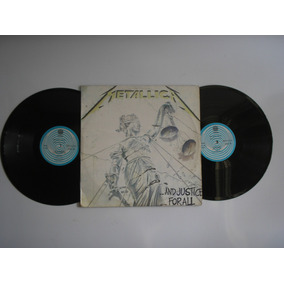 Lp Vinilo Metallica And Justice For All Printed Colombia1988
