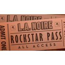 La Noire Rockstar Pass - Todas Dlcs - Ps3 (digital)