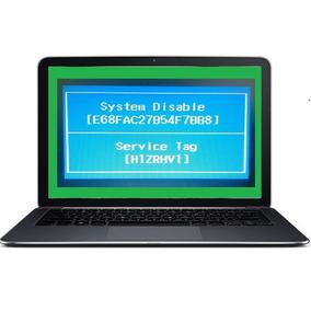 Senhas Para Destravar Dell Notebook Com System Disable