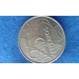 Moneda De Brasil De 25 Cent Del 2012 { Vf }