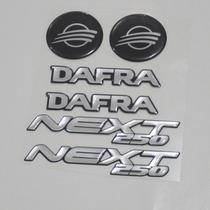 Adesivo Faixa Logo 3d Tanque Rabeta Moto Sym Dafra Next 250