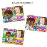 Doctora Juguete Souvenirs Imantados + Cartel Bienvenida Foto