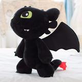 Dragão Banguela Fúria Da Noite Pelúcia 30cm Como Treinar Seu