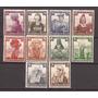 3º Reich Alemania 1935 Serie Trajes Tipicos Nuevas 34 U$d