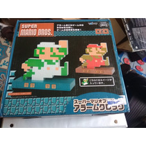 Super Mario Bros Luigi Reloj Despertador Taito Watch