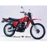 Silenciador Kawasaki Kl 250 Tipo Original Bianchi Motos
