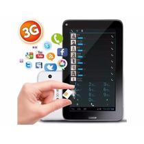 Tablet Pc Android 7´ 3g Y 8gb Liberada Gps Con Chip Celular