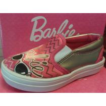 Panchas Zapatillas Niñas De Barbie 23 Al 28