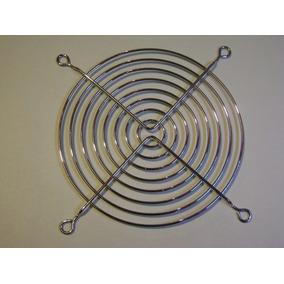 Rejilla Metalica Cromada Para Ventilador 120x120mm