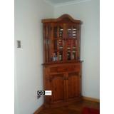 Mueble Esquinero De Diseño, 100% Madera Raulí (canteradeco)
