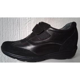 Aumentar Estatura Hasta 7 Cm Zapatos Hombre Café / Negro