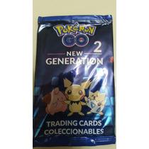 Cartas Pokemon Go New Generation 2 Pack X 25 Originales