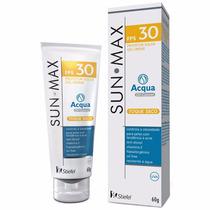 Sunmax Aqua Gel Creme Oil Control Fps30 - 60g Toque Seco