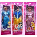 Muñecas Princesas Cenicienta Aurora Blancanieves Gigantes