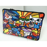 Case Case P/ Notebook Simples 15.6 - Romero Britto