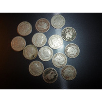 Monedas Argentinas 5 Ctvos 1897 Al 1918