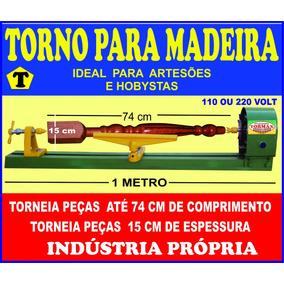 Torno Hobby Para Madeira 1 Metro
