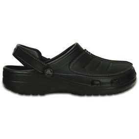 Zapato Crocs Caballero Yukon Mesa Clog Negro