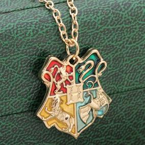 Genial Collar Harry Potter Insignia Colegio Hogwarts